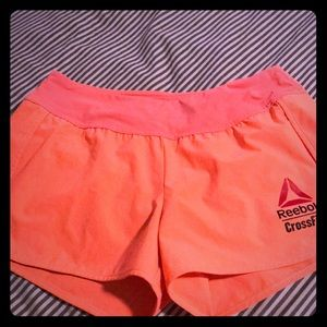 Reebok Crossfit games shorts.